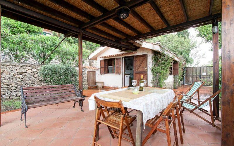 Il cottage di Villa Sveva